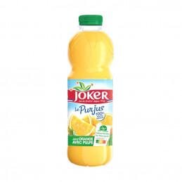 Pur jus d'orange avec pulpe...