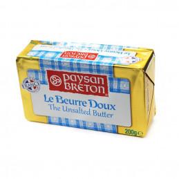 Beurre en plaquette doux 200g