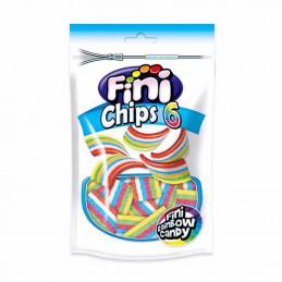 Bonbons chips 6 couleurs 180g