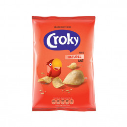 Chips croky nature sel 100g