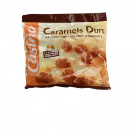 Bonbons caramel durs 175g
