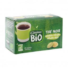 Thé noir citron BIO 20...