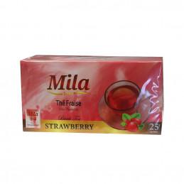 Thé noir fraise 25 sachets
