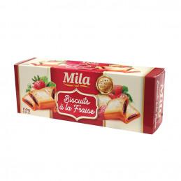 Biscuits à la fraise 150g