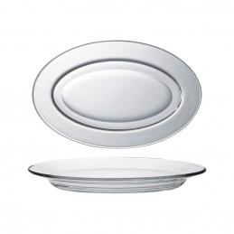 Plat ovale Lys transparent...