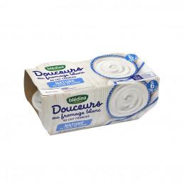Fromage blanc nature 4x100g