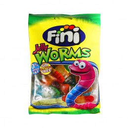 Bonbons Jelly worms 100g